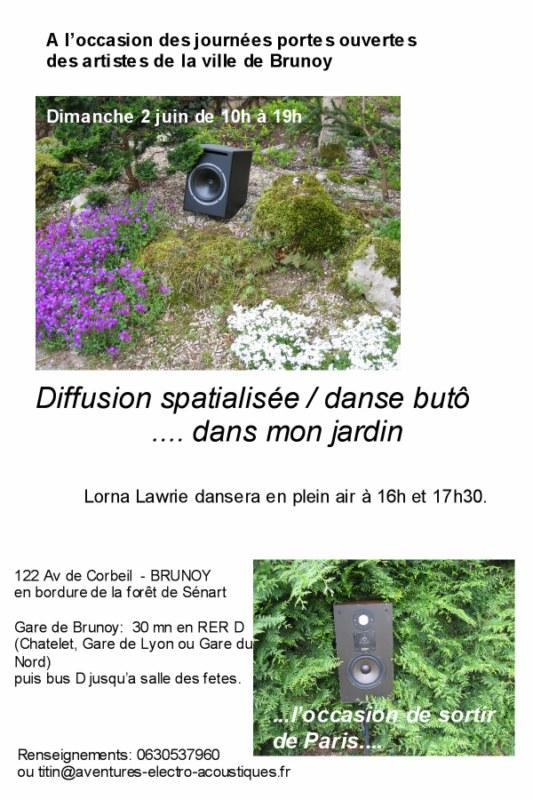 Michel titin schnaider buto dans mon jardin 1 - Je campe dans mon jardin ...